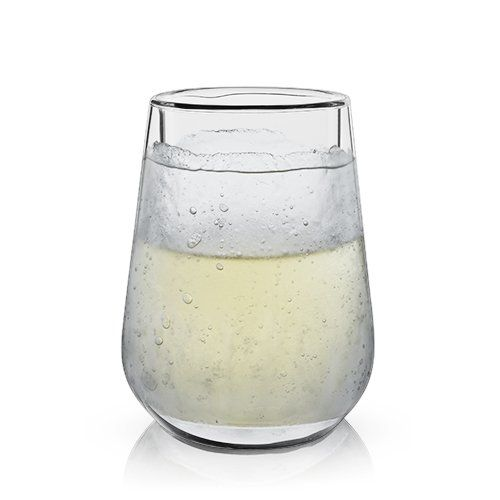 Frosty Wine Glass