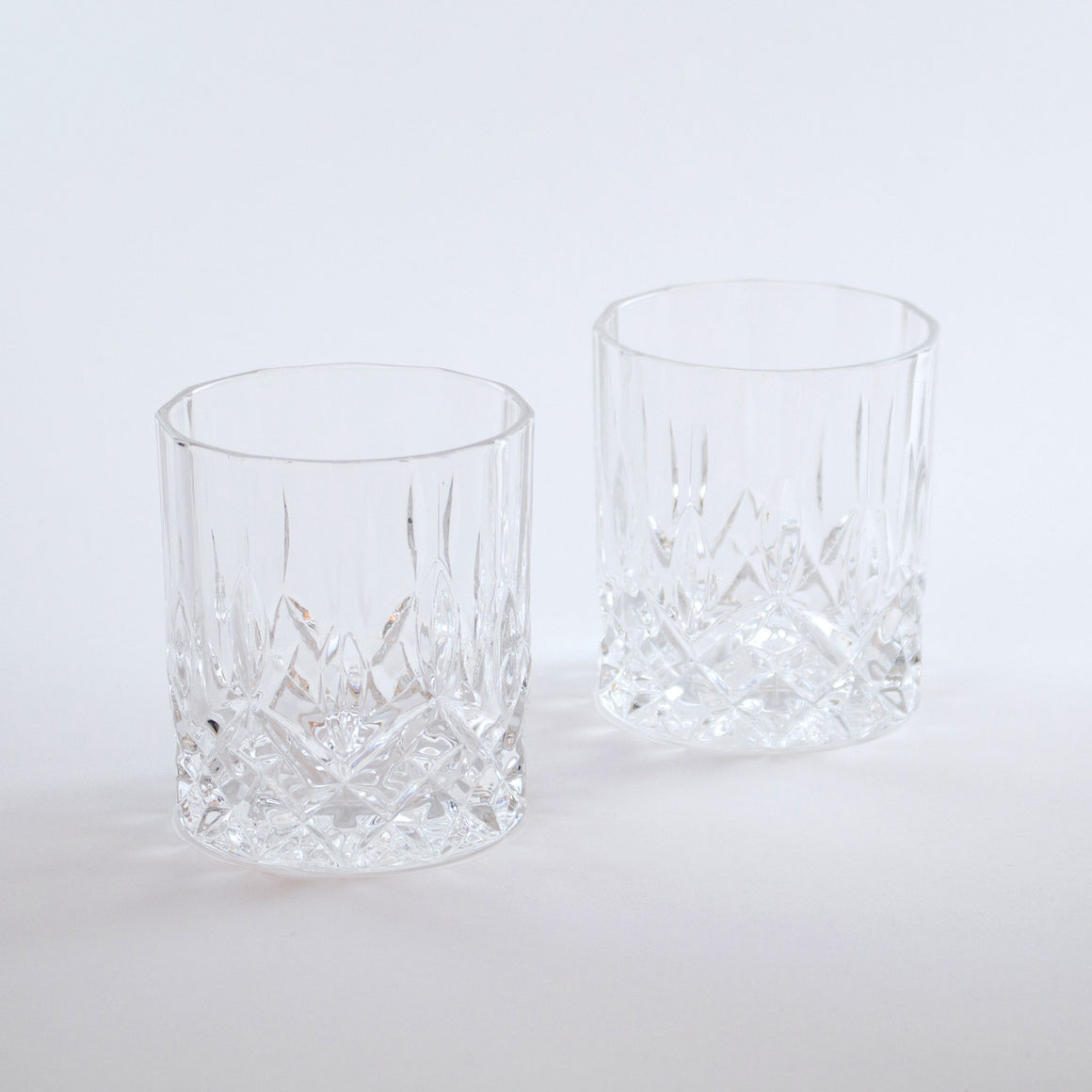 Crystal Whiskey Tumblers (Set of 2)