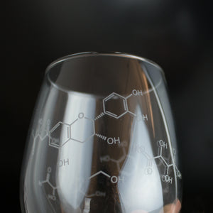 Wine Chemistry Stemless Glass (Set of 2)