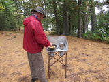 "Voyageur Stove - Base Camp Package with 28"" Tall Stand"