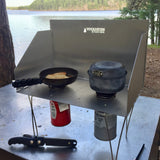 "Voyageur Stove - Base Camp Package with 10"" Integrated Stand"