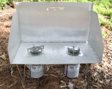"Voyageurs Stove - Base Camp Package with 10"" Integrated Stand"