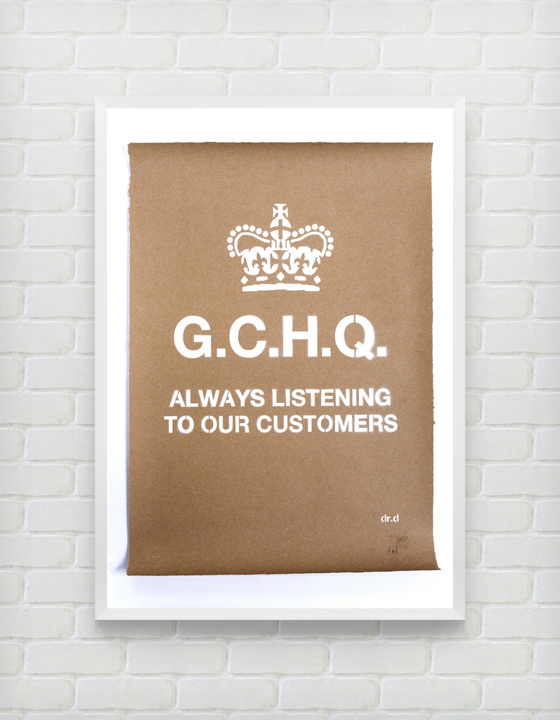 GCHQ Always Listening To Our Customer - ShangrilART