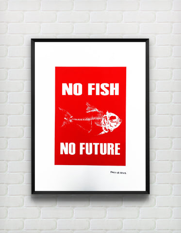 No Fish No Future - ShangrilART
