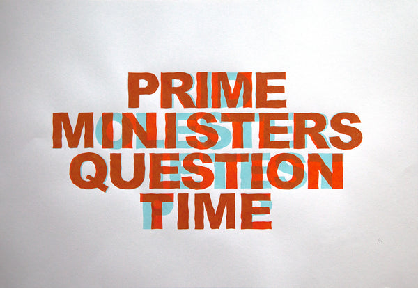 Prime Ministers Question Time - Anaglyph Edition - ShangrilART