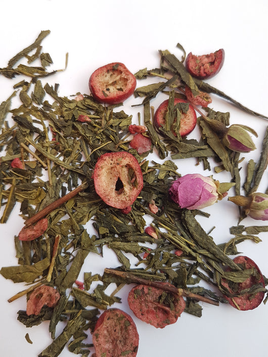 Cranberry & Rose Sencha  50g