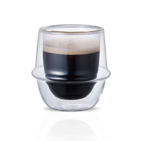 Kinto Kronos Double Walled Espresso Cup