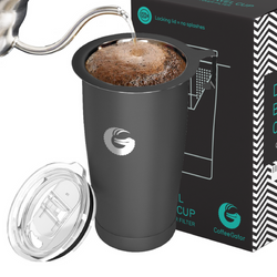 Coffee Gator Thermal Travel Mug With Pour Over Filter