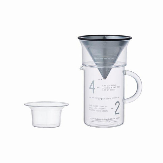 Kinto SCS 4 Cup Coffee Jug Set 600ml
