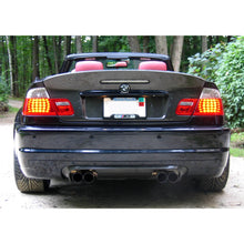 bmw e46 2d coupe csl style carbon fiber trunk