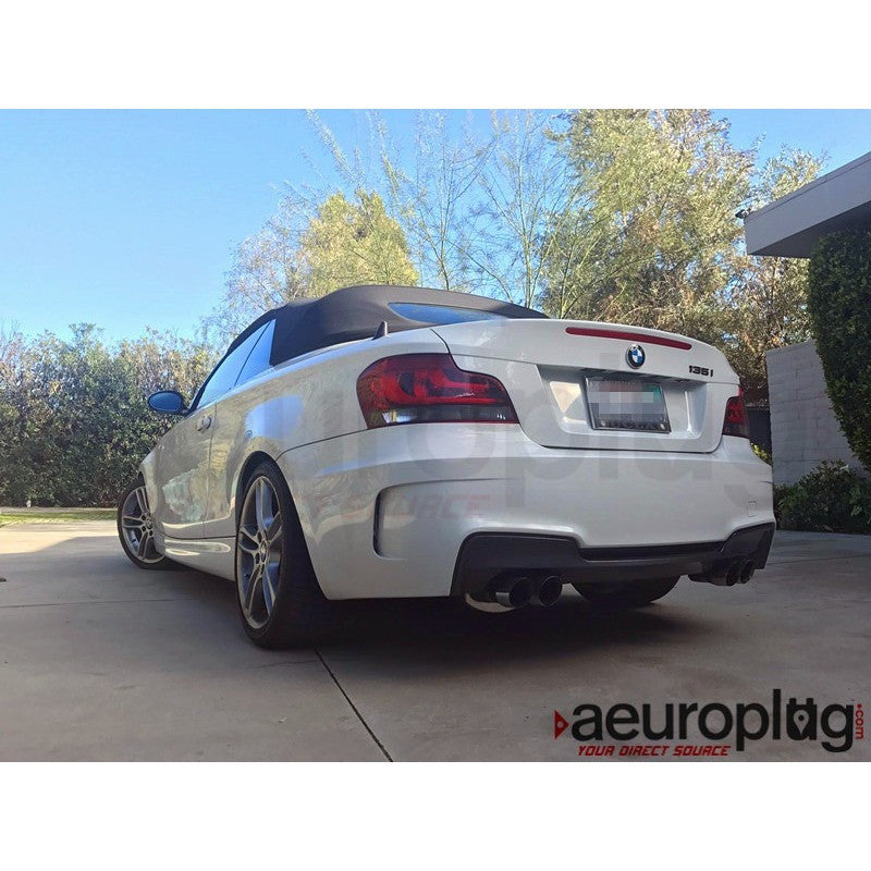 e82 1m style oem replacement rear bumper