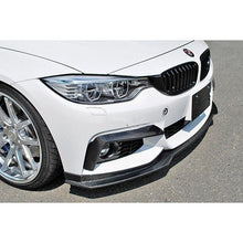 bmw f32 mtech end cc style carbon fiber front lip