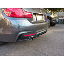 bmw f32 f33 4 series m performance style diffuser 428
