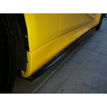 DINMANN BMW E60 M5 CARBON FIBER SIDE SKIRTS EXTENSIONS - AEUROPLUG