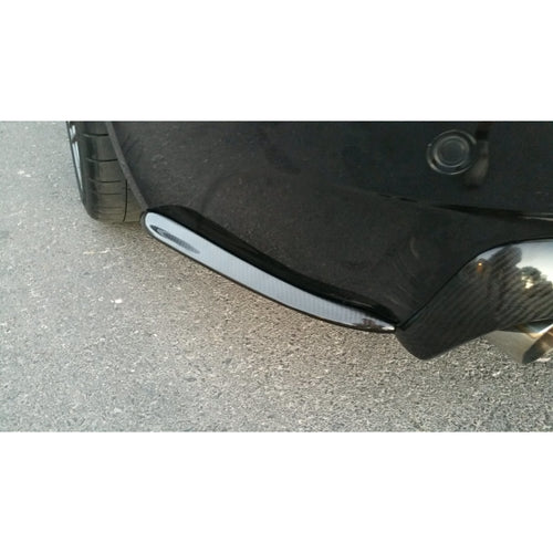 DINMANN BMW E63 M6 CARBON FIBER REAR BUMPER SIDE LIP