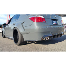 DINMANN BMW E60 M5 CARBON FIBER REAR BUMPER SIDE LIP - AEUROPLUG