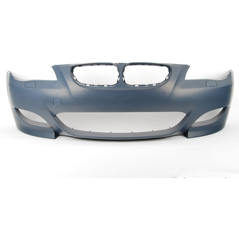 bmw e60 2004 2009 m5 style front bumper w o pdc w regular fog lights