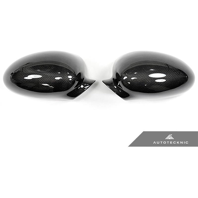 AUTOTECKNIC CARBON FIBER REPLACEMENT MIRROR COVERS - E46 M3 - AEUROPLUG