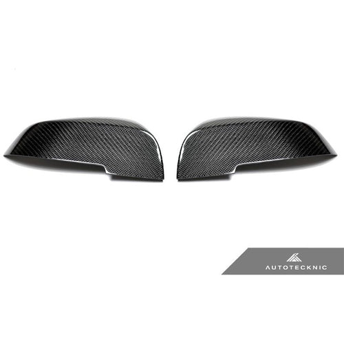 AUTOTECKNIC CARBON FIBER REPLACEMENT MIRROR COVERS - E84 X1 | F20 1-SERIES | F22 2-SERIES | F30 3-SERIES | F32| F36 4-SERIES