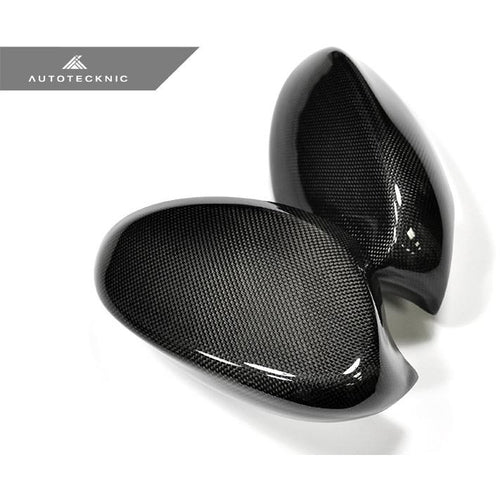 AUTOTECKNIC CARBON FIBER REPLACEMENT MIRROR COVERS - E92| E93 COUPE 07-09 - AEUROPLUG