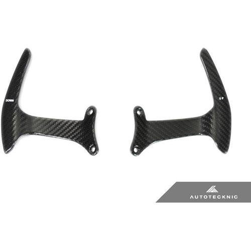 AUTOTECKNIC COMPETITION STEERING SHIFT PADDLES -  FERRARI 488 GTB - AEUROPLUG