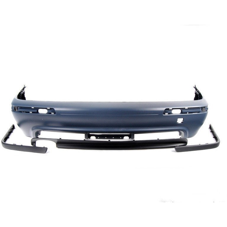 bmw e39 m5 style rear bumper for all e39 5 series abs plastic