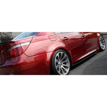 bme e60 m5 carbon fiber side skirt extensions