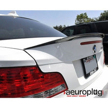 e82 carbon fiber performance style trunk spoiler