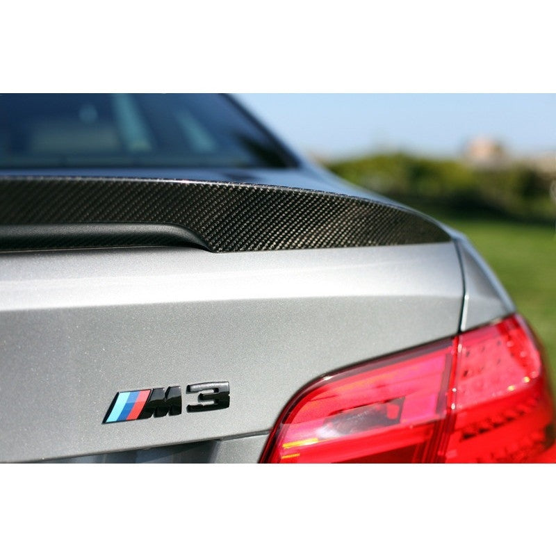 Bmw E92 Performance Style Carbon Fiber Trunk Spoiler