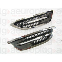 bmw f10 m5 style metal fenders with side vent grille