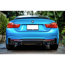 BMW F32 END.CC STYLE CARBON FIBER DIFFUSER QUAD TIPS 00---00, , AEUROPLUG
