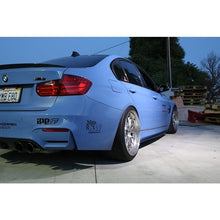 FORCEWERKZ BMW F80 / F82  CARBON FIBER SIDE SKIRT EXTENSION SPLITTERS - AEUROPLUG