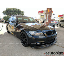 BMW E90 2009-2011 M SPORT / MTECH ONLY ARKYM STYLE CARBON FIBER FRONT LIP - AEUROPLUG