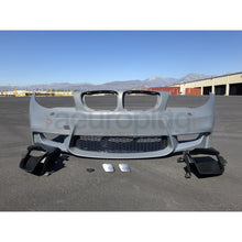 BMW E82 1M STYLE AIR DUCT VERSION FRONT BUMPER - AEUROPLUG