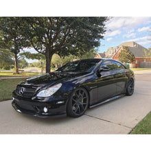 W219 CLS CARBON FIBER SIDE SKIRTS EXTENSION - AEUROPLUG