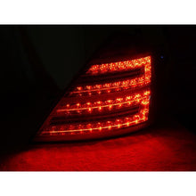 W221 S63 LED FACELIFT TAIL LIGHTS RED/CLEAR