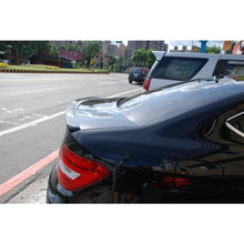 w204 coupe carbon fiber trunk spoiler