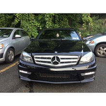 w204 facelift c63 style front bumper w led drl w o pdc