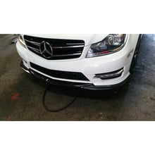 w204 facelift sport godhand carbon fiber front lip mod on lip required