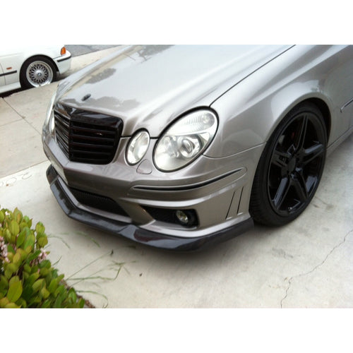 w211 e63 amg carbon fiber front lip xy style rep oem