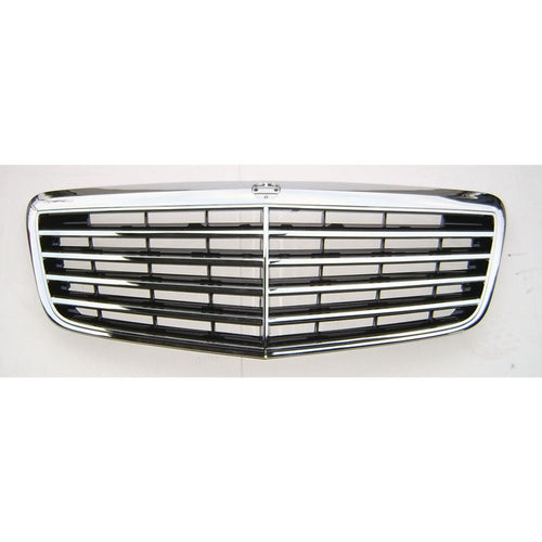 w211 07 09 facelift front grille