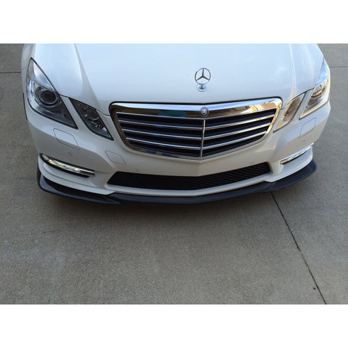 w212 carbon fiber front lip for sport package