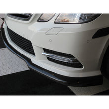 w212 godhand style carbon fiber front lip for sport package