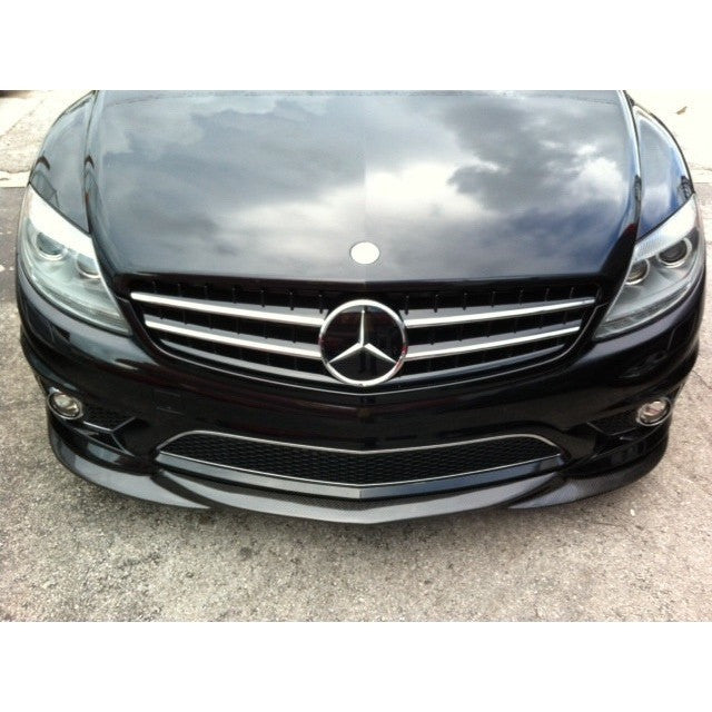 w216 cl63 cl65 carbon fiber front lip