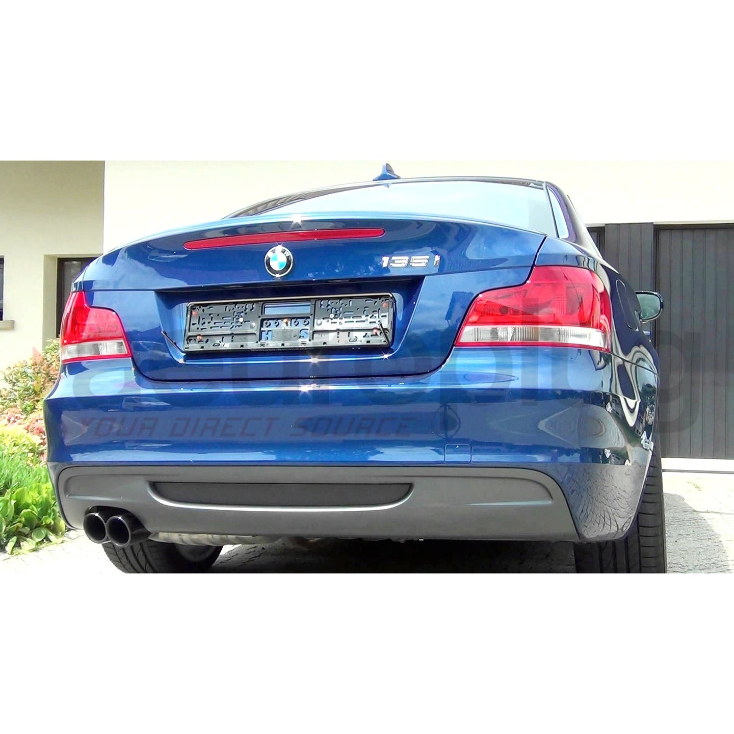 BMW E82 M SPORT / MTECH Style OEM Replacement Rear Bumper - AEUROPLUG