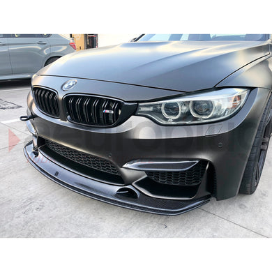BMW F8X M3 M4 EXOTIC TUNING STYLE CARBON FIBER FRONT LIP