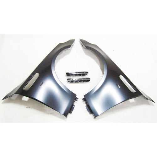 bmw e60 m5 style fenders w side vent grille