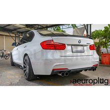 bmw f30 m performance replacmeent diffuser 320