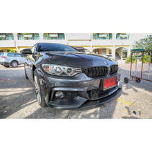 BMW F32 PERFORMANCE STYLE FRONT LIP FOR M SPORT / MTECH BUMPER, , AEUROPLUG