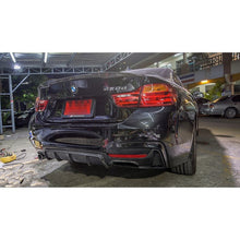 BMW F32 PERFORMANCE STYLE CARBON FIBER DIFFUSER QUAD TIPS, , AEUROPLUG